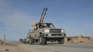 الجيش الليبي يقصف مخازن أسلحة للوفاق في طرابلس