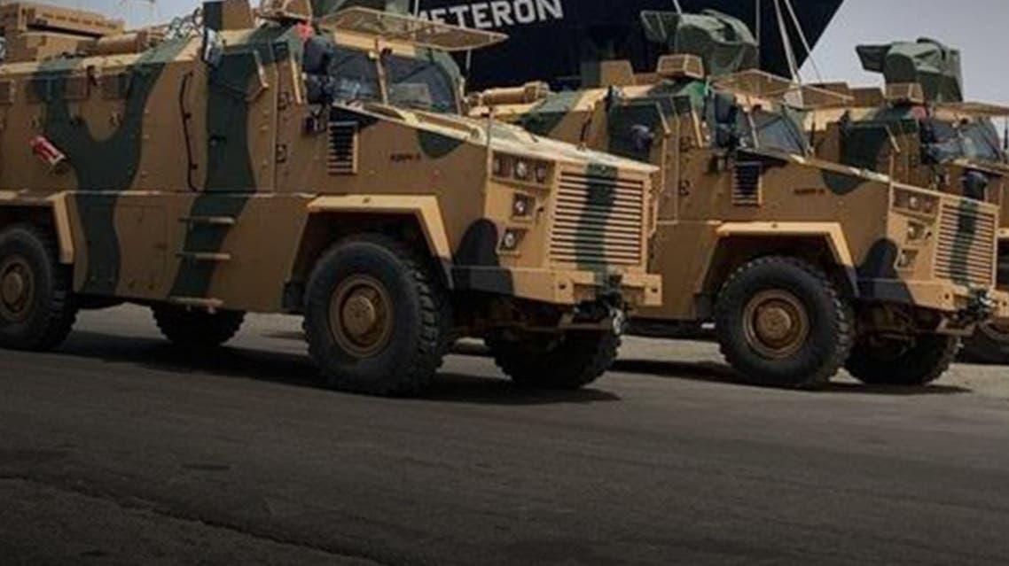 مدرعات تركية بقبضة الجيش الليبي