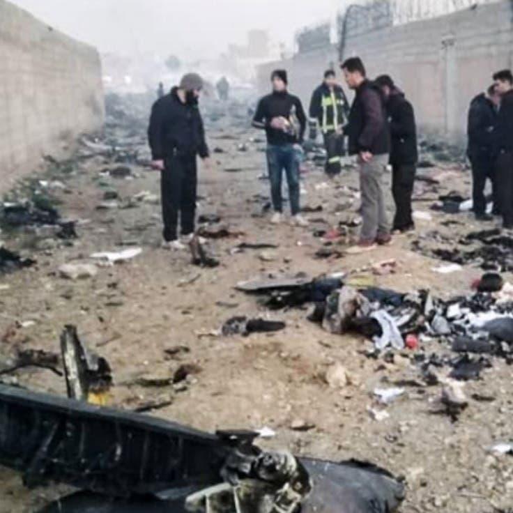 شاهد.. أشلاء ومقتنيات ضحايا الطائرة الأوكرانية