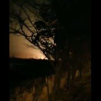 فيديو يظهر إصابة الطائرة الأوكرانية بصاروخ فوق طهران