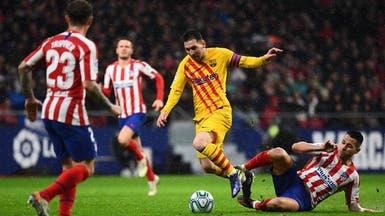 """برشلونة يستهل حملة الدفاع عن السوبر أمام أتلتيكو في """"الجوهرة"""""""