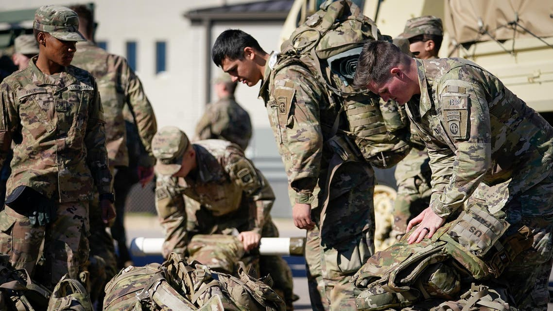 US troops ready to deploy to Middle East from Fort Bragg, North Carolina, Jan 5 - Reuters