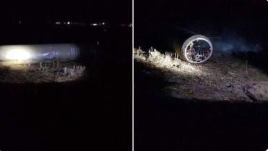 صور لأحد صواريخ إيران.. سقط بأربيل ولم ينفجر
