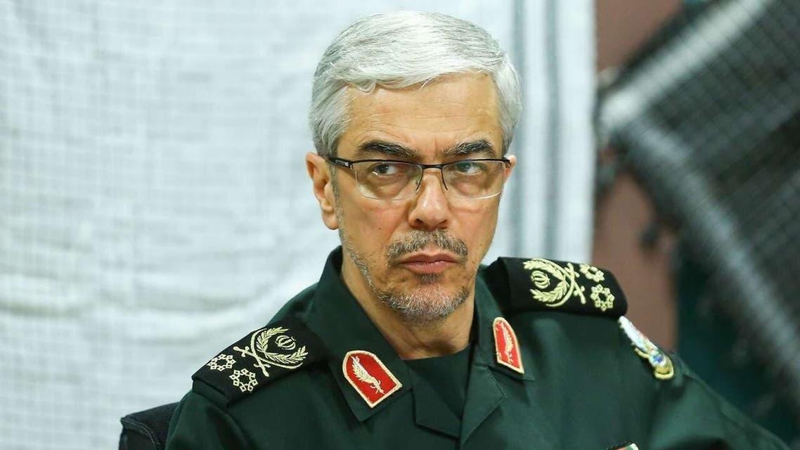 رئیس هیئة الأرکان العامة للقوات المسلحة الإيرانية اللواء محمد باقري (أرشيفية)
