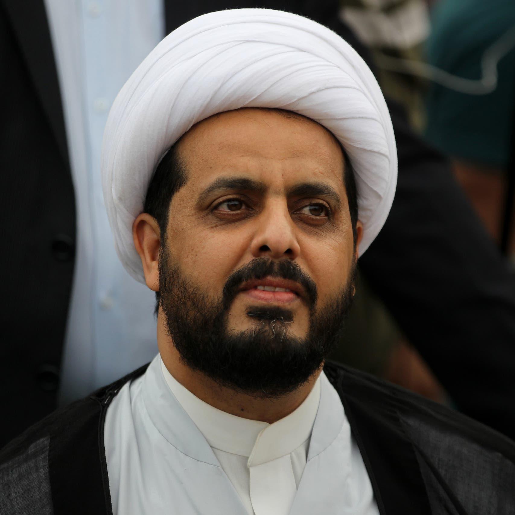 """زعيم """"العصائب"""": الرد العراقي لن يكون أقل من حجم رد إيران"""