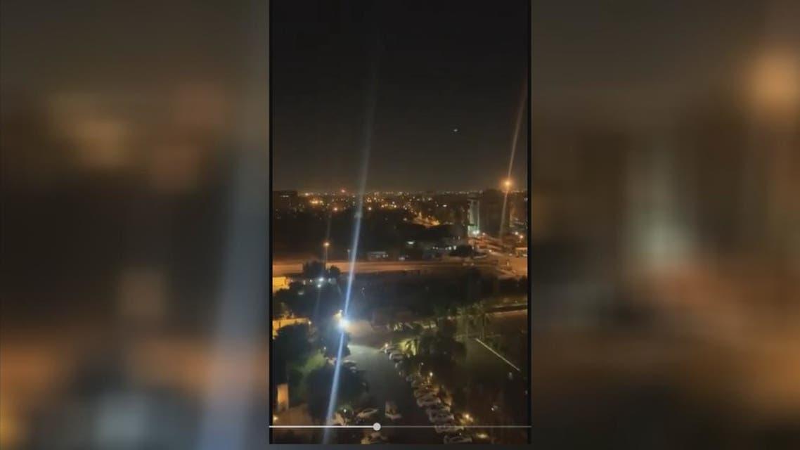 سقوط صاروخَيْ كاتيوشا في محيط السفارة الأميركية داخل المنطقة الخضراء