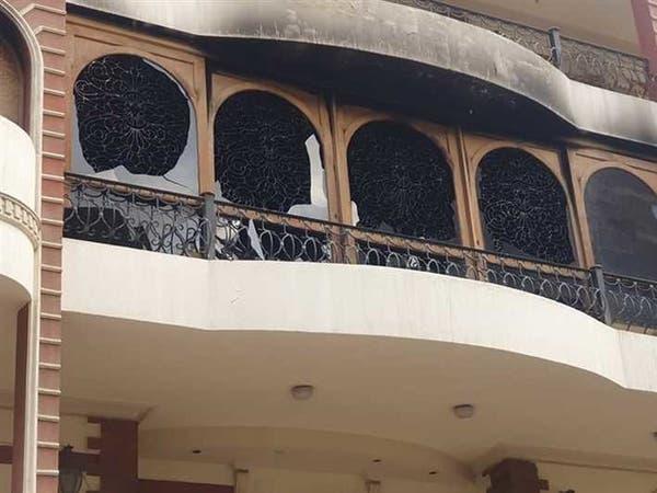 حريق ضخم في منزله يتسبب في وفاة والد إيهاب توفيق