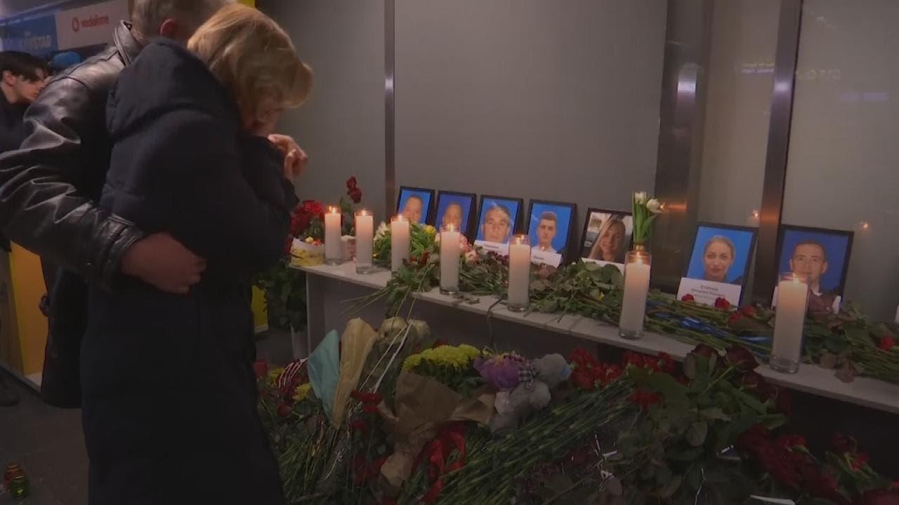 قربانیان هواپیمای اوکراینی