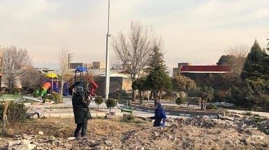 تنظيف موقع تحطم الطائرة.. شهود يؤكدون وإيران تنفي!