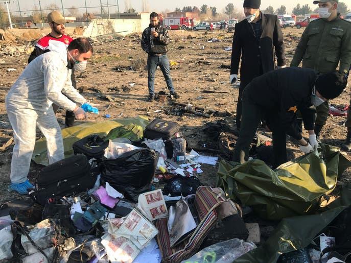 الحرس الثوري وطائرة أوكرانيا.. كييف تلاحق التعويضات