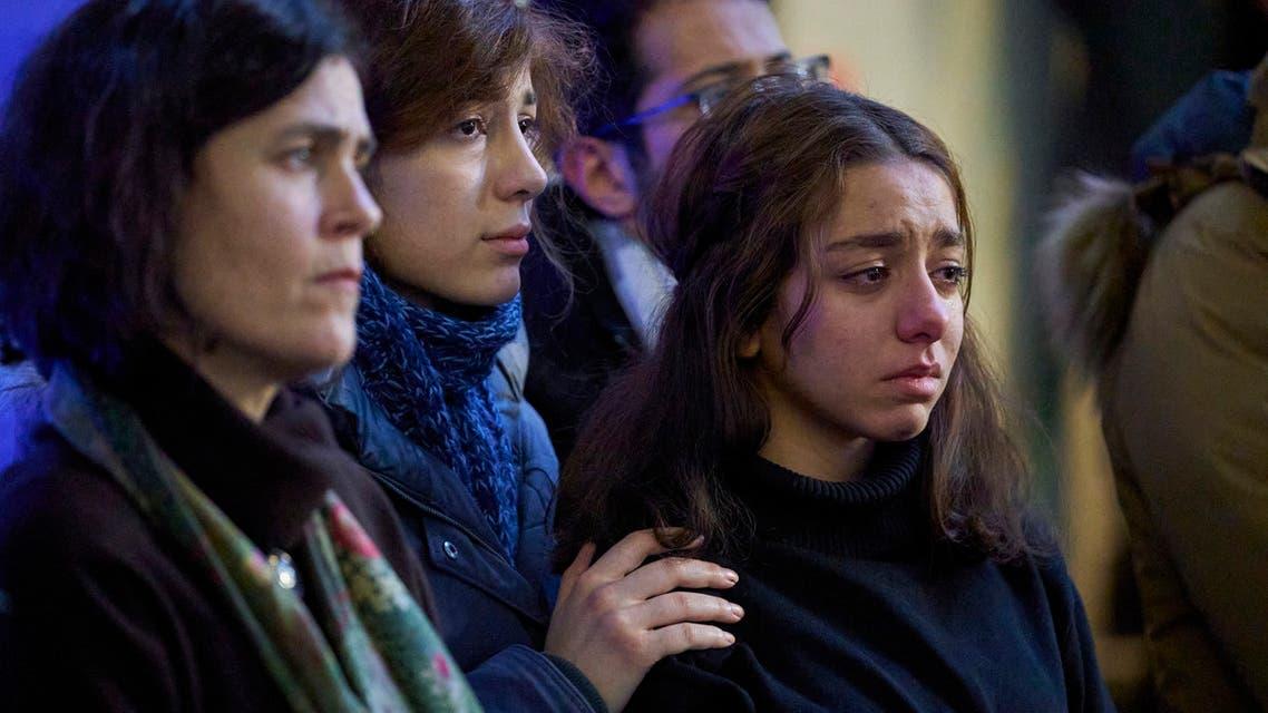 أهالي ضحايا الطائرة الأوكرانية (فرانس برس9