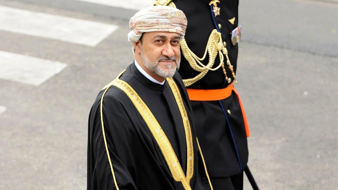 Then Oman's Minister of Heritage and Culture Haitham bin Tariq al-Said in Amsterdam on April 30, 2013. (File photo: Reuters)