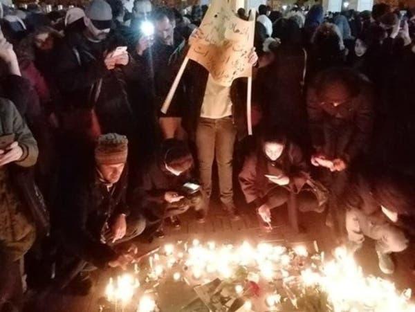 طهران تهتف: خامنئي قاتل وحكمه باطل.. وتمزيق صور سليماني