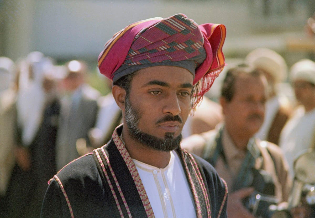Sultan Qaboos is pictured in 1975. (Photo: AP)