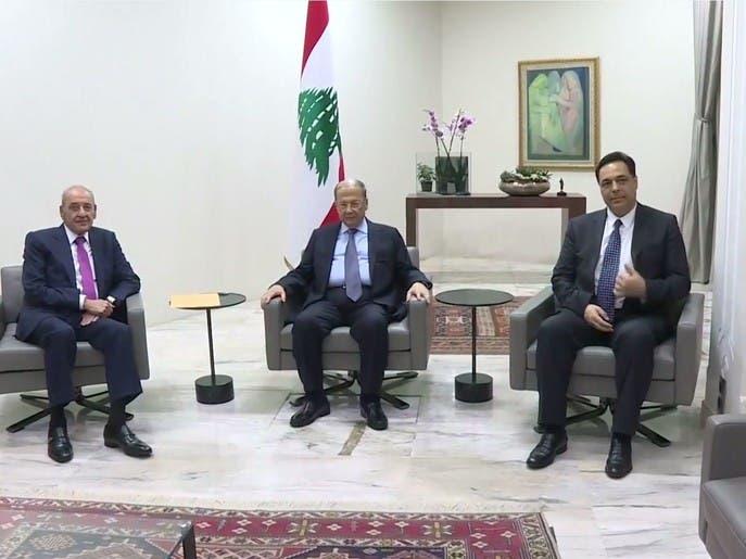 الخلاف حول تشكيل حكومة حسان دياب في لبنان يعود إلى مربعة الأول