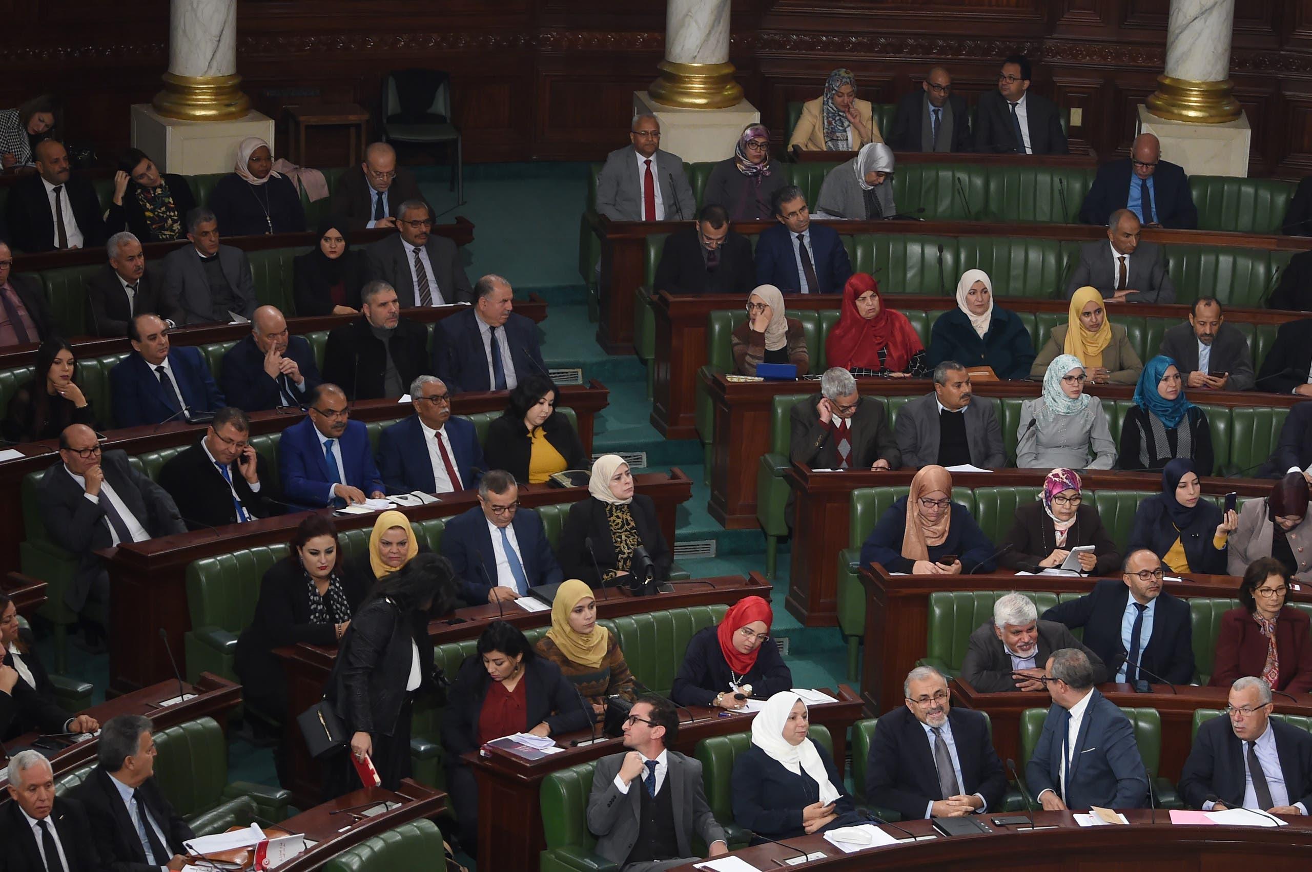 من البرلمان التونسي (أرشيفية- فرانس برس