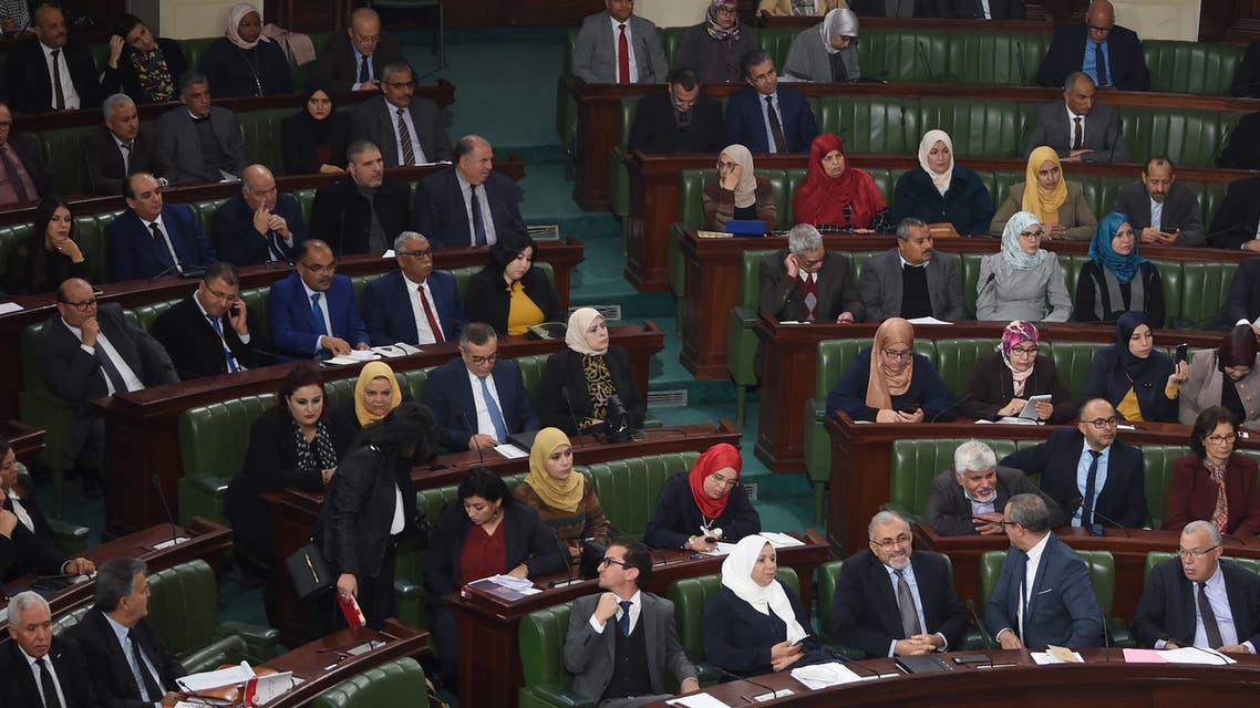 البرلمان التونسي (10 يناير2020- فرانس برس