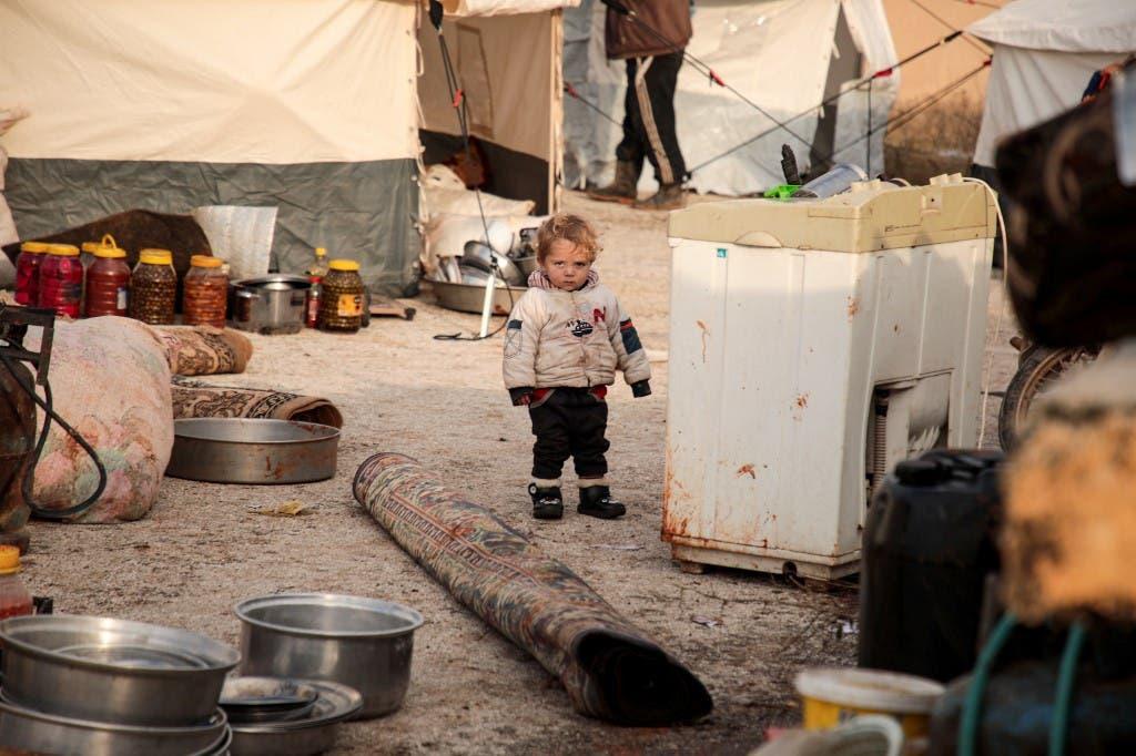 الحدود السورية التركية - فرانس برس