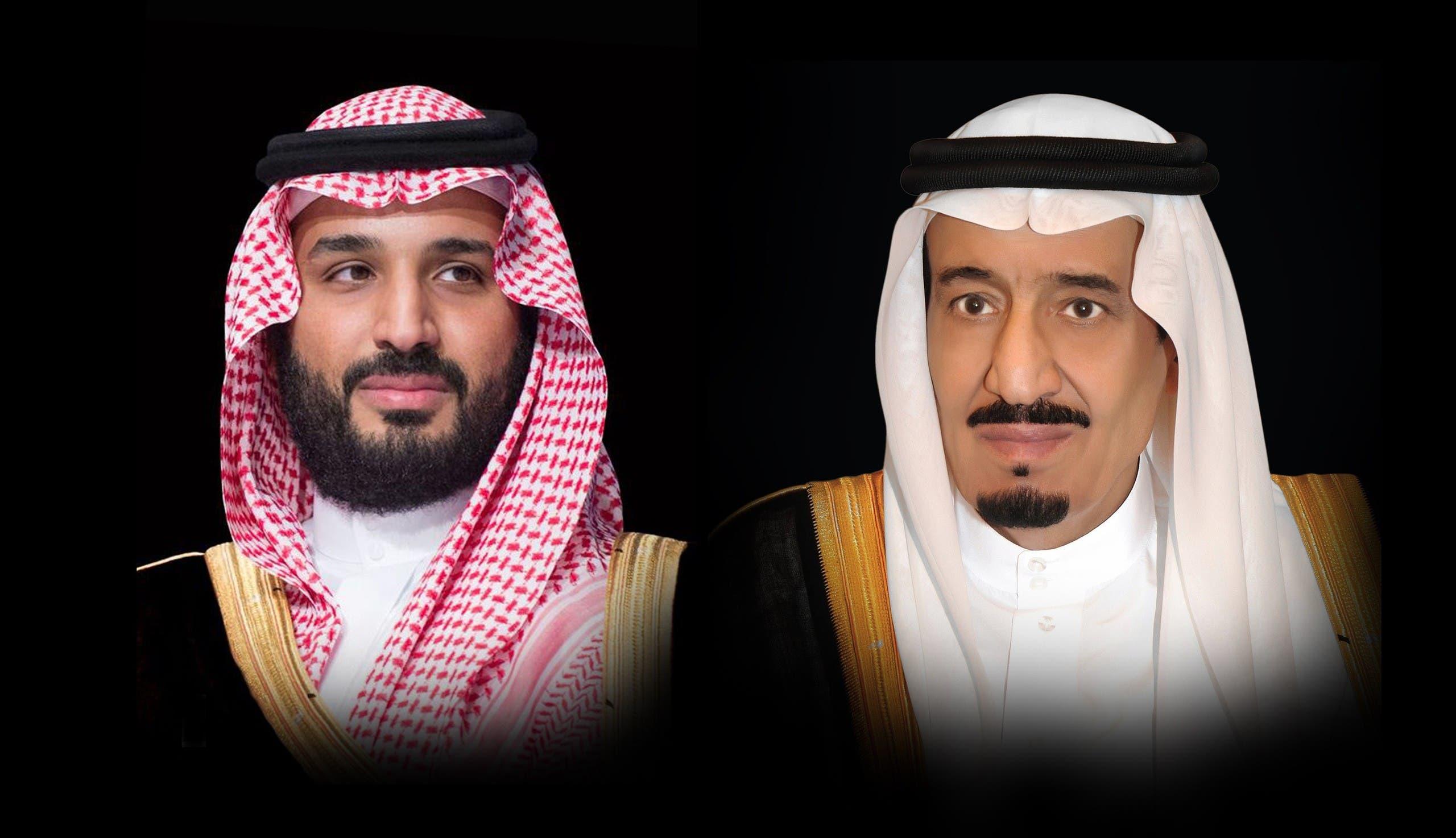 الملك سلمان وولي العهد محمد بن سلمان