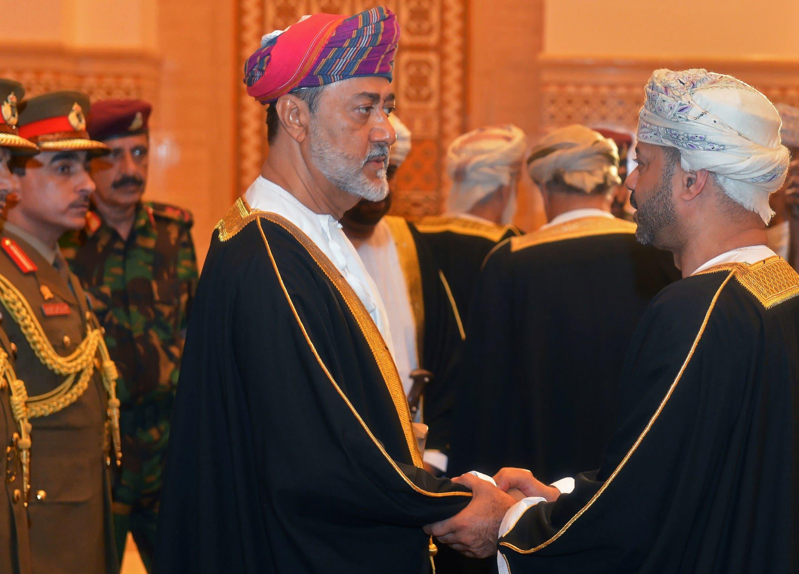 سلطان عمان هيثم بن طارق بن تيمور آل سعيد،