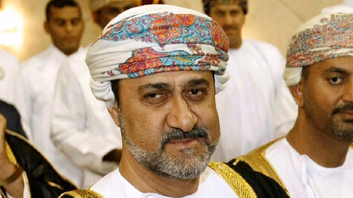 Oman's Culture and Heritage Minister Sayed Haitham bin Tariq Al Said is pictured during a trophy presentation at the end of the Arabian Gulf Cup final soccer match between Oman and Saudi Arabia in Muscat January 17, 2009. (Photo: Reuters)