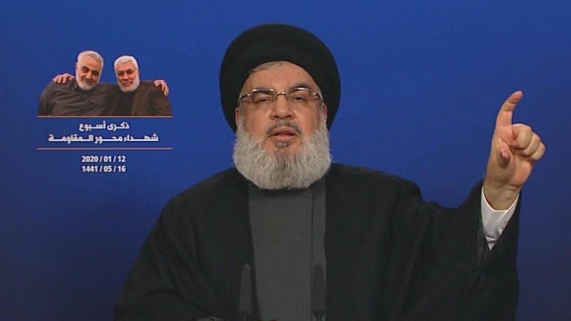 THUMBNAIL_ نصر الله: الهجوم على قاعدة عين الأسد مجرد صفعة وخطوة أولى على طريق الرد