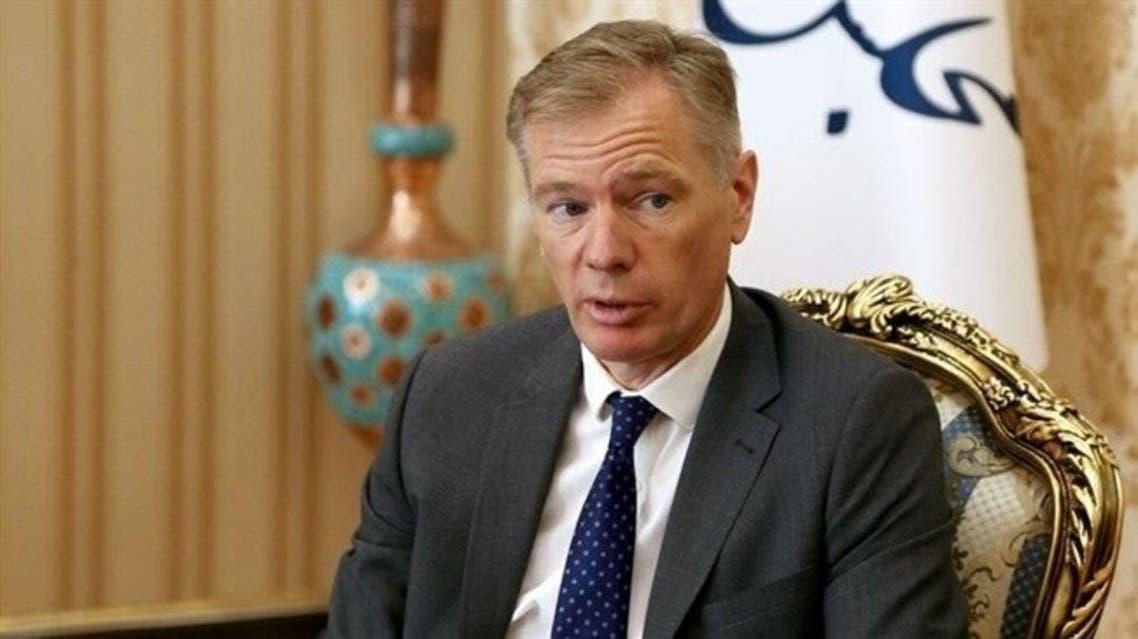 السفير البريطاني في إيران روب ماكير