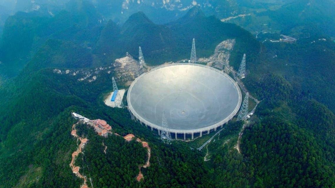 التلسكوب الصيني الملقب عين السماء