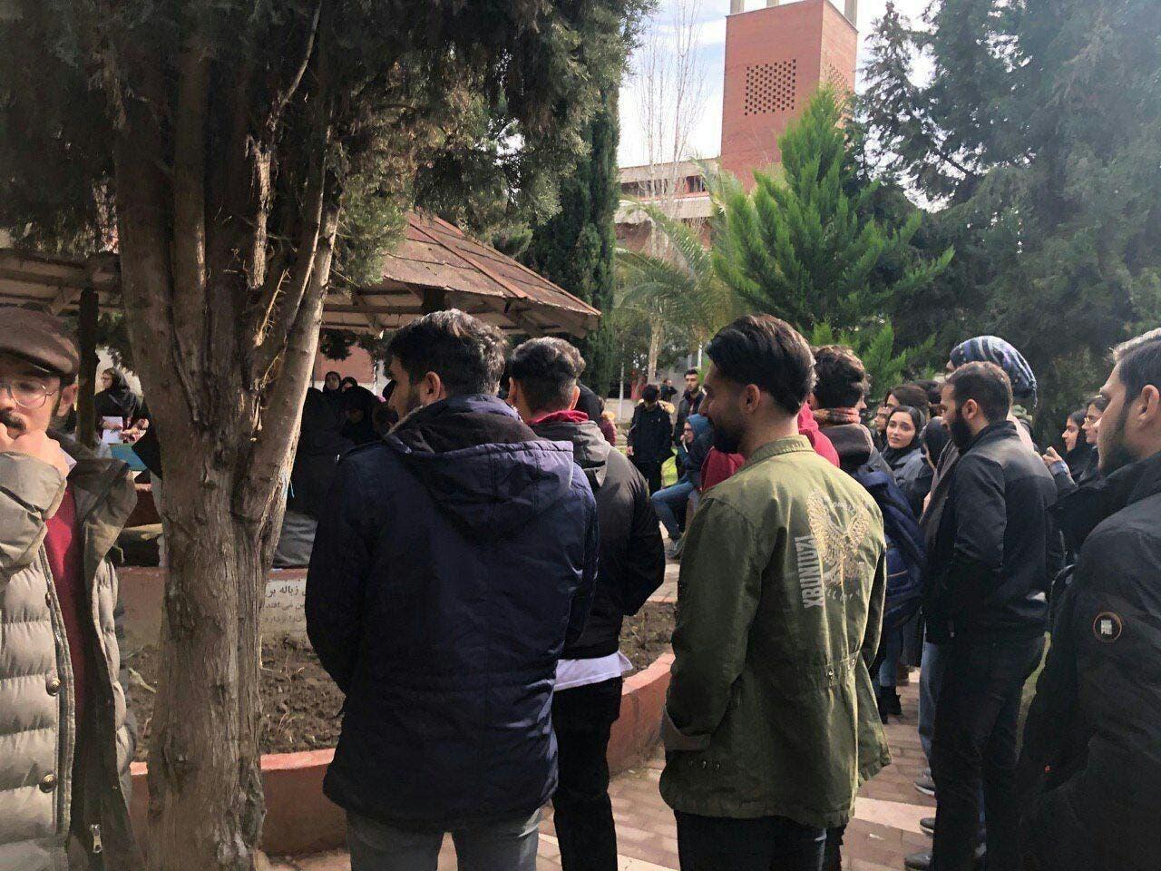 من احتجاجات إيران
