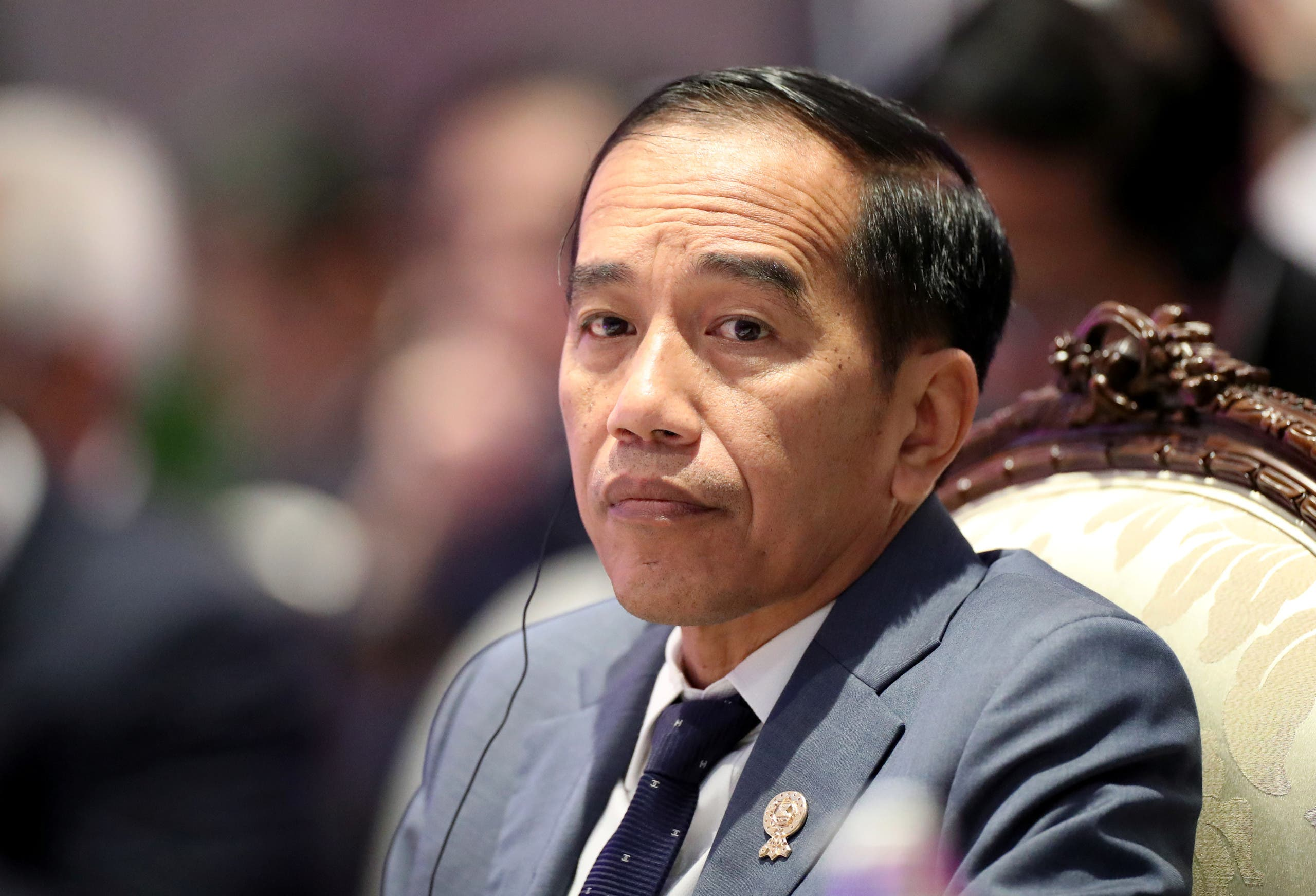 Indonesia's President Joko Widodo attends an ASEAN leaders summit with United Nations Secretary-General Antonio Guterres, in Bangkok, Thailand. (File photo: Reuters)