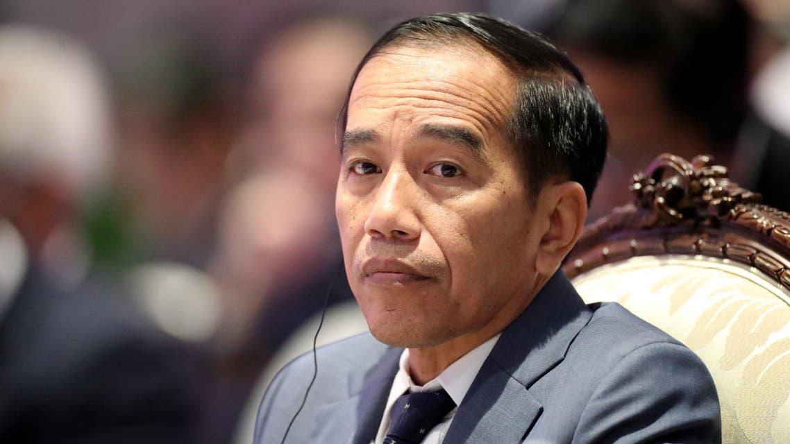 Indonesia's President Joko Widodo attends an ASEAN leaders summit with United Nations Secretary-General Antonio Guterres, in Bangkok, Thailand November 3, 2019. REUTERS/Soe Zeya Tun