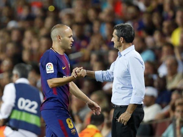 إنييستا: برشلونة يتعامل مع فالفيردي بطريقة مُهينة
