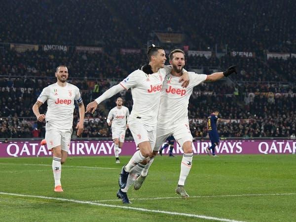 رونالدو يقود يوفنتوس للفوز على روما واستعادة صدارة الدوري