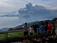 """""""بركان تال"""" يلغي 240 رحلة جوية إلى الفلبين"""