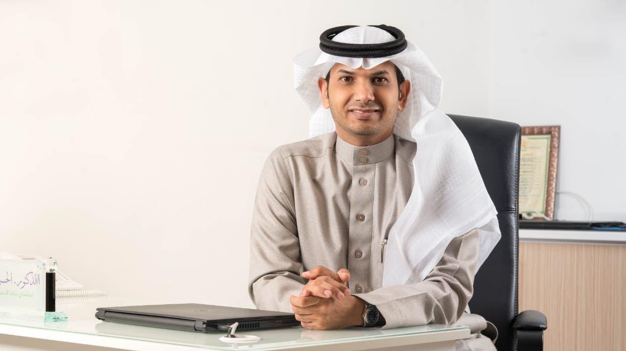 استشاري جراحة السمنة والمناظير الدكتور الحسن النعمي