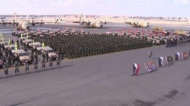 الجيش المصري يجري مناورات بالقرب من حدود ليبيا