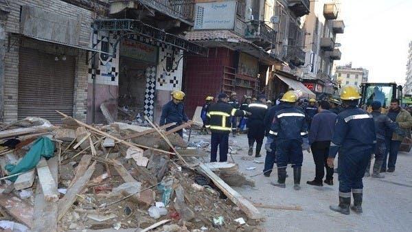 مصر.. سقوط بناية قديمة بالإسكندرية ومقتل 5