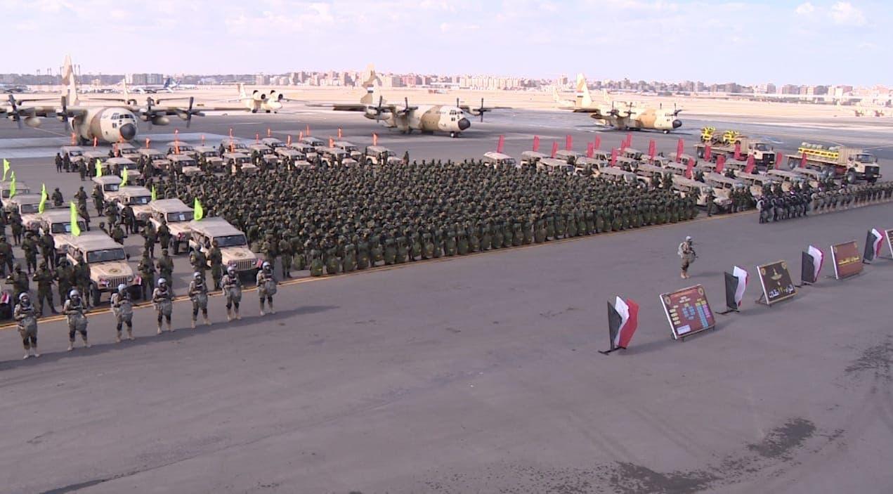 قوات من الجيش المصري أرشيفية