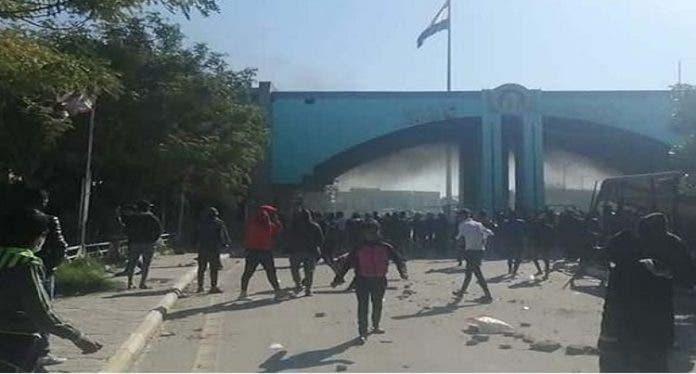اشتباكات جامعة واسط
