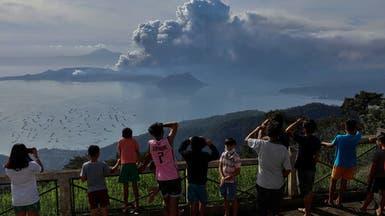 """السفارة السعودية في الفلبين تحذر المواطنين من بركان """"تال"""""""