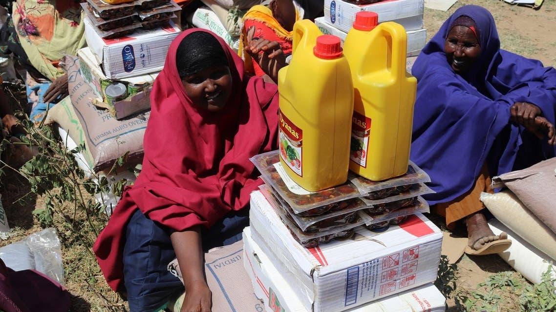 إغاثة سعودية للصومال