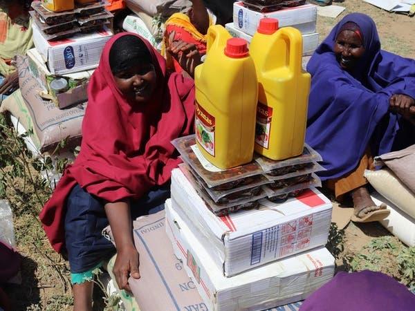 مركز الملك سلمان يوزع آلاف السلال الغذائية في الصومال