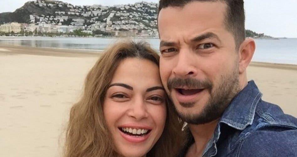 داليا مصطفى وزوجها شريف سلامة