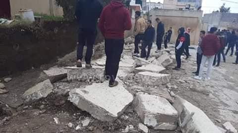 3 مصريين قضوا في الانهيار