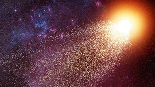 غبار نجوم أكبر من عمر الشمس بحجر نيزكي!
