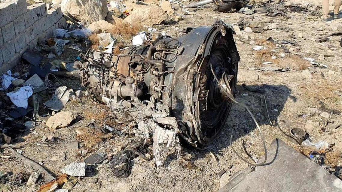 General view of the debris of the Ukraine International Airlines, flight PS752, Boeing 737-800 plane that was downed after take-off from Iran's Imam Khomeini airport, on the outskirts of Tehran, Iran. (Photo: Reuters)