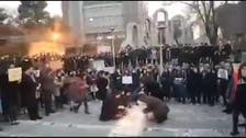 Iranian students criticize regime for attacking them at vigil