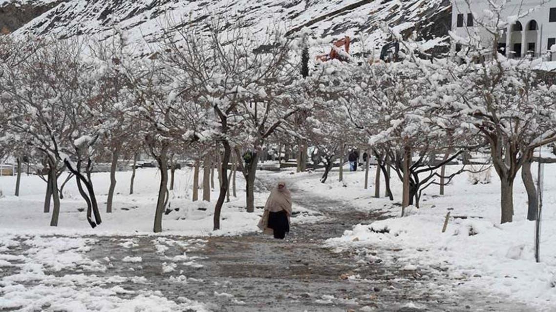 Pakistan Quetta Snow