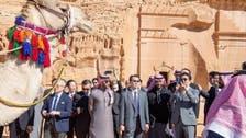 جاپانی وزیراعظم کا سعودی عرب کے تاریخی شہر مدائن صالح کا دورہ