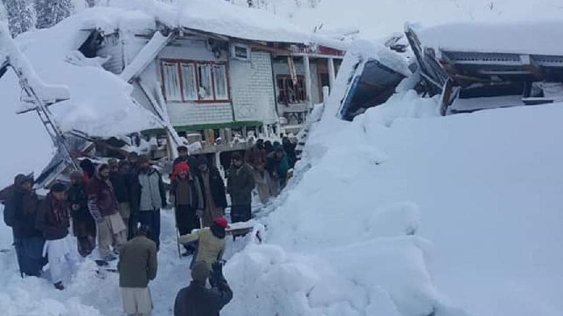 At least 57 dead in avalanches in Pakistani Kashmir. (Twitter)